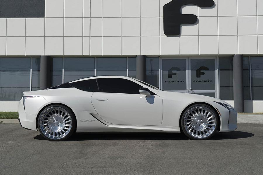 24 Zoll Forgiato Tec 3.3 Wheels Lexus LC500 Tuning 5 24 Zoll Forgiato Tec 3.3 Wheels am seltenen Lexus LC500