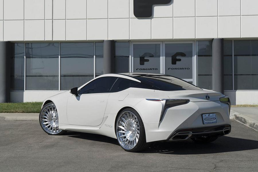 24 Zoll Forgiato Tec 3.3 Wheels Lexus LC500 Tuning 7 24 Zoll Forgiato Tec 3.3 Wheels am seltenen Lexus LC500
