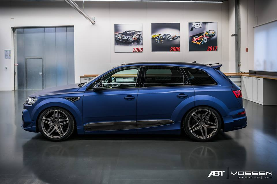 abt widebody audi sq7 vossen 2018 21. Black Bedroom Furniture Sets. Home Design Ideas