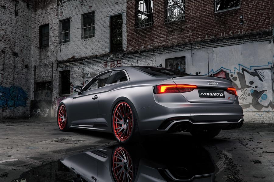 Audi RS5 mattgrey Forgiato Wheels Tuning (1)
