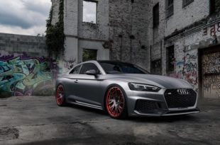 Audi RS5 mattgrey Forgiato Wheels Tuning 2 310x205 Saugeil   Neuer Audi RS5 in mattgrau auf Forgiato Wheels