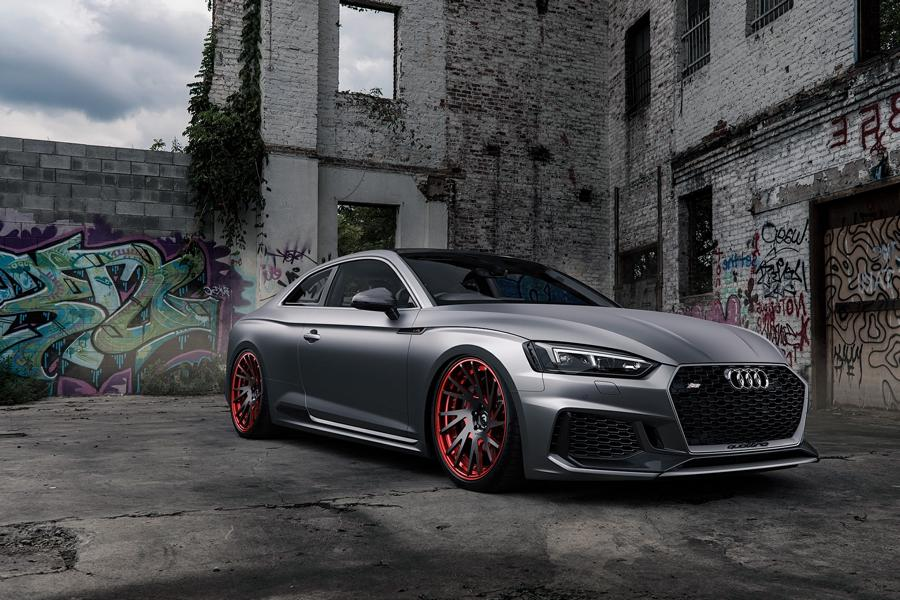 Audi RS5 mattgrey Forgiato Wheels Tuning 2 Saugeil   Neuer Audi RS5 in mattgrau auf Forgiato Wheels