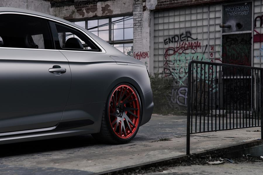 Audi RS5 mattgrey Forgiato Wheels Tuning 3 Saugeil   Neuer Audi RS5 in mattgrau auf Forgiato Wheels