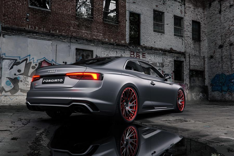 Audi RS5 mattgrey Forgiato Wheels Tuning 4 Saugeil   Neuer Audi RS5 in mattgrau auf Forgiato Wheels