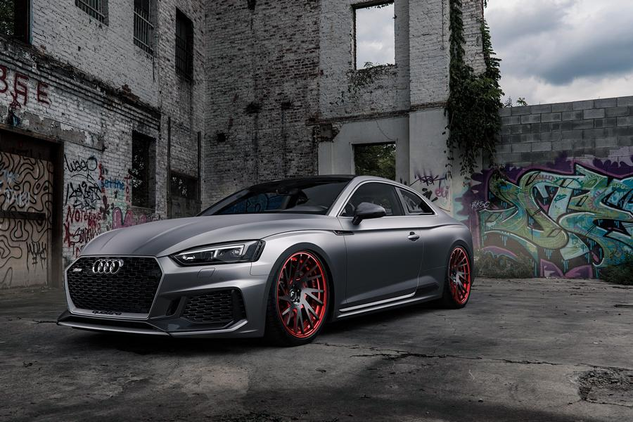 Audi RS5 mattgrey Forgiato Wheels Tuning (5)