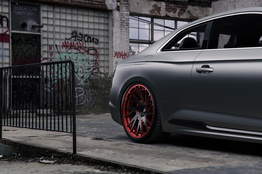 Audi RS5 mattgrey Forgiato Wheels Tuning 6 Saugeil   Neuer Audi RS5 in mattgrau auf Forgiato Wheels
