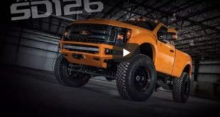 BDS Project SD126 310x165 Riesig   2020 Ford F 250 Black OPS mit TUSCANY Tuning