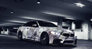 BMW M4 F82 Coupe Marble Wrap Look Tuning 6 310x165 Crazy Style   BMW M4 F82 Coupe im Marmor Wrap Look