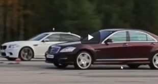 BMW M5 F10 Mercedes S63 AMG 310x165 Video: 750 HP BMW M5 F10 vs. 625 HP Mercedes S63 AMG