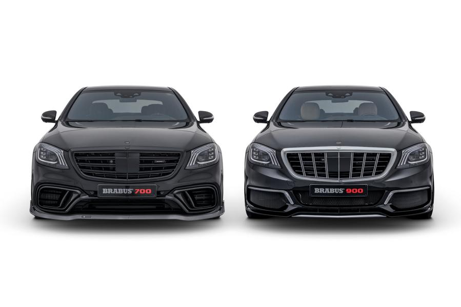 Double Good - BRABUS Mercedes S 63 4MATIC & Maybach S 650 ...
