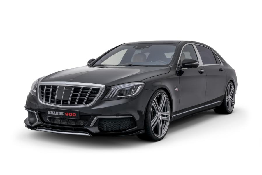 BRABUS 900 Mercedes Maybach S 650 Tuning 2018 5 Doppelt gut   BRABUS Mercedes S 63 4MATIC & Maybach S 650