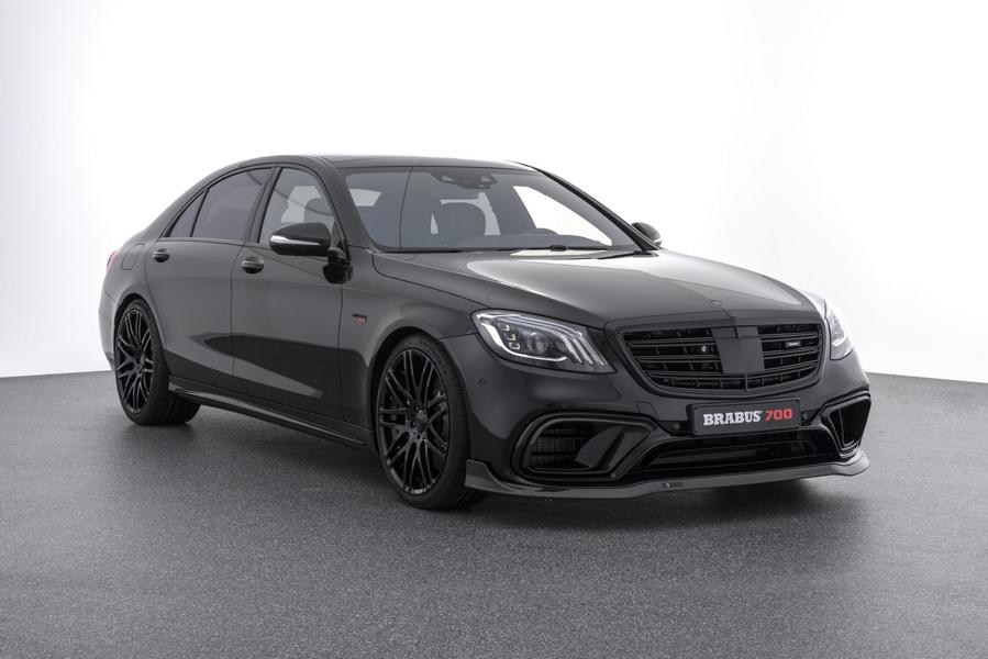 Brabus Mercedes S63 AMG W222 Tuning Facelift 2018 15 Doppelt gut   BRABUS Mercedes S 63 4MATIC & Maybach S 650