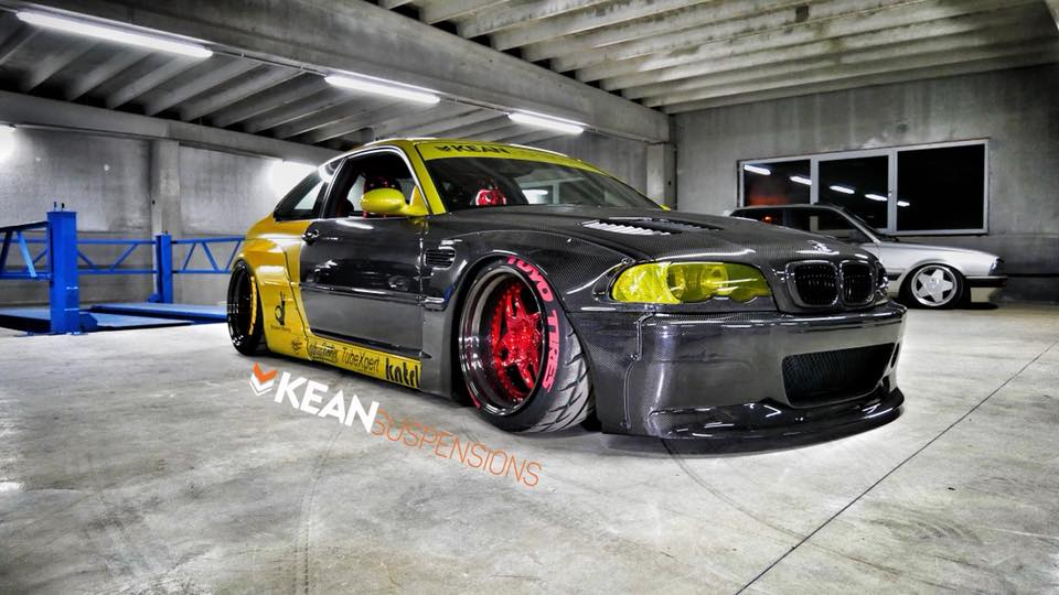 Carbon Rocket Bunny BMW E46 M3 Tuning 2017 10 Kean Suspensions   Carbon Rocket Bunny BMW E46 M3
