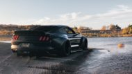 Clinched Widebody Ford Mustang GT Tuning 4 190x107 Black fury Mustang   Clinched zeigt neues Widebody Monster