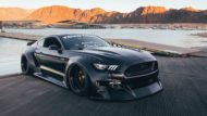 Clinched Widebody Ford Mustang GT Tuning 8 190x107 Black fury Mustang   Clinched zeigt neues Widebody Monster