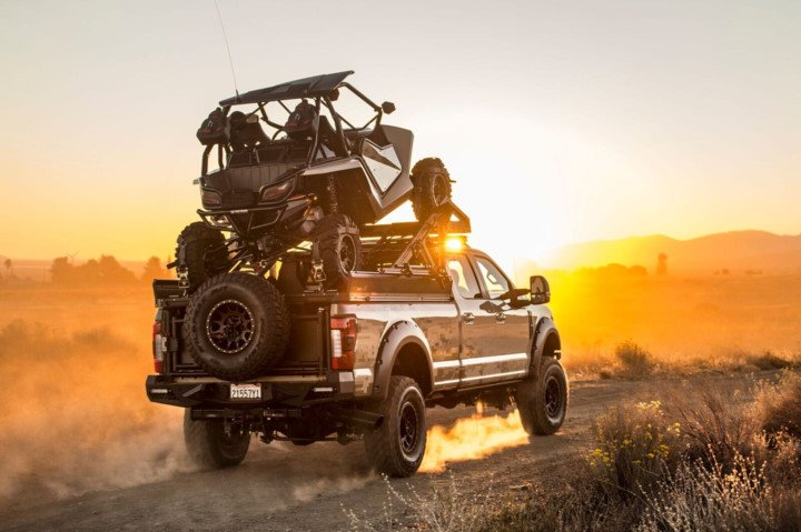 "Ford F 350 %E2%80%9CThe Operator%E2%80%9D Tuning Hellwig 2 Mega Monster   Ford F 350 ""The Operator"" By Hellwig"