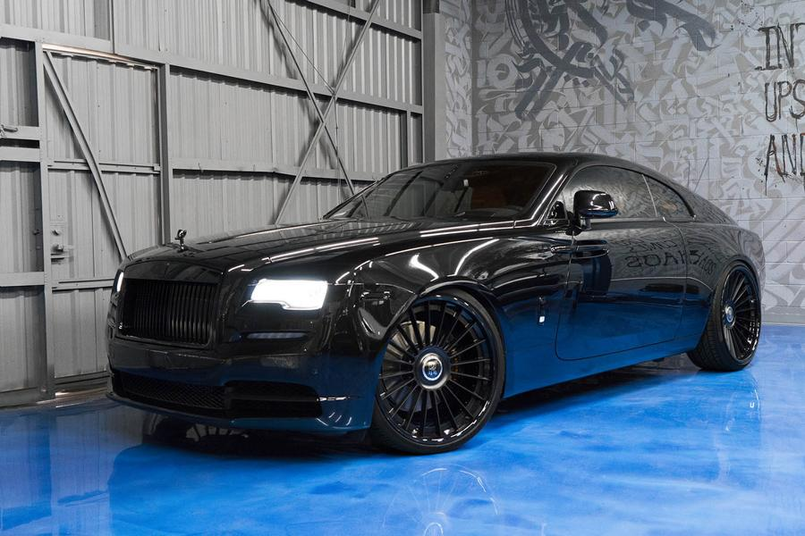 hammer forgiato tec 3 1 rims on rolls royce wraith. Black Bedroom Furniture Sets. Home Design Ideas