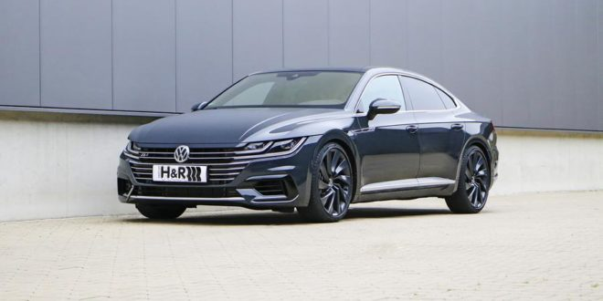 Dezenter Luxusliner – H&R legt den VW Arteon 4WD tiefer
