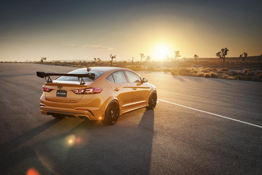 Hyundai BTR Edition Elantra Sport Concept Tuning 2 Hyundai kann auch sportlich   Blood Type Racing Hyundai Elantra Sport