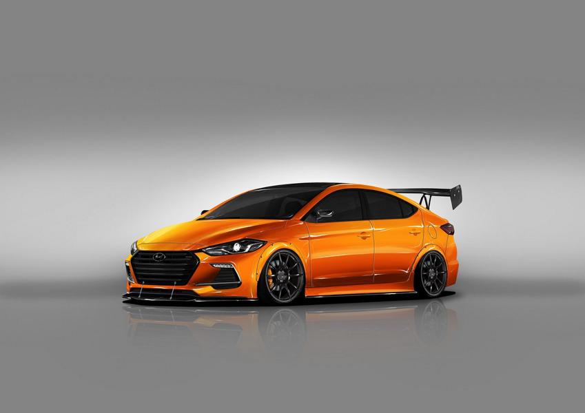 Hyundai can also be athletic - Blood Type Racing Hyundai