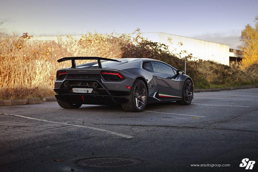 Lamborghini Huracan Performante PUR RS22 Tuning 2 Lamborghini Huracan Performante auf PUR RS22 Wheels