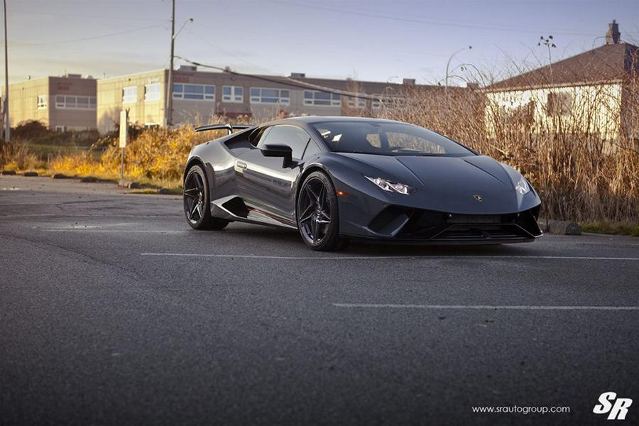 Lamborghini Huracan Performante PUR RS22 Tuning 4 Lamborghini Huracan Performante auf PUR RS22 Wheels