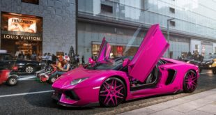 Lamborghini LP720 4 50th Anniversary Pink Tuning 5 310x165 Irrer Kübel   Nissan Juke Widebody auf Forgiato Wheels