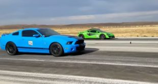 McLaren 570S vs. Ford Mustang Shelby GT500 310x165 Video: McLaren 570S vs. Ford Mustang Shelby GT500