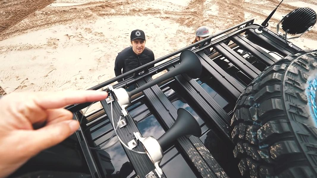 Mercedes Benz G500 4%C3%974%C2%B2 Tuning Jon Olsson 2017 2 800 PS   der Mercedes Benz G500 4×4² von Jon Olsson