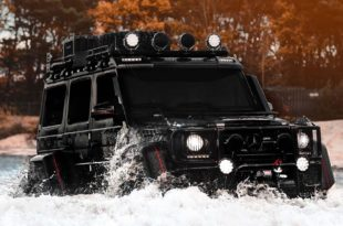 Mercedes Benz G500 4×4² Tuning Jon Olsson 2017 4 310x205 800 PS   der Mercedes Benz G500 4×4² von Jon Olsson