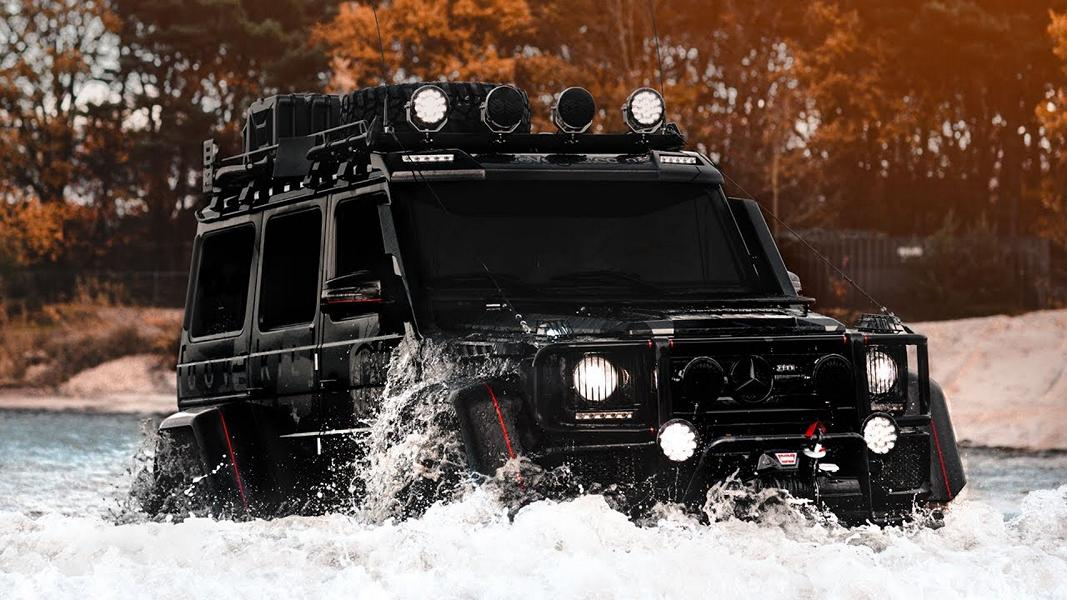Mercedes Benz G500 4%C3%974%C2%B2 Tuning Jon Olsson 2017 4 800 PS   der Mercedes Benz G500 4×4² von Jon Olsson