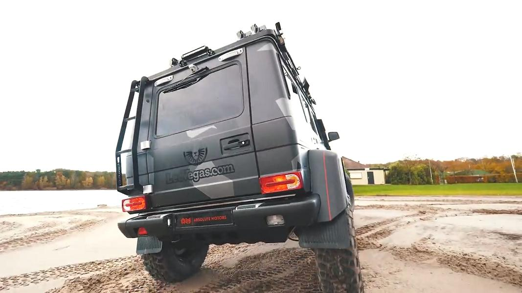 Mercedes Benz G500 4×4² Tuning Jon Olsson 2017 5 800 PS   der Mercedes Benz G500 4×4² von Jon Olsson
