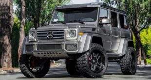 Mercedes G500 4%C3%974 Tuning Forgiato Wheels 6 310x165 Irrer Kübel   Nissan Juke Widebody auf Forgiato Wheels