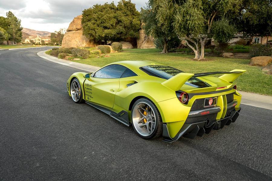 Misha Designs Widebody Ferrari 488 GTB Tuning 1 Mehr geht nicht   Misha Designs Widebody Ferrari 488 GTB