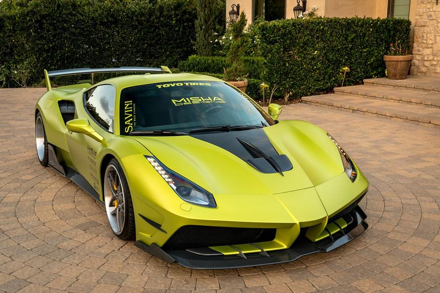 Misha Designs Widebody Ferrari 488 GTB Tuning 10 Mehr geht nicht   Misha Designs Widebody Ferrari 488 GTB