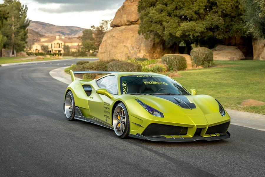 Misha Designs Widebody Ferrari 488 GTB Tuning 20 Mehr geht nicht   Misha Designs Widebody Ferrari 488 GTB