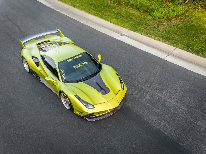Misha Designs Widebody Ferrari 488 GTB Tuning 6 Mehr geht nicht   Misha Designs Widebody Ferrari 488 GTB