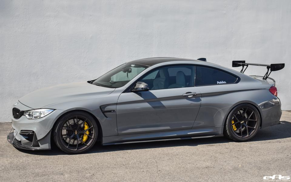 perfect nardo gray painted bmw m4 f82 from eas. Black Bedroom Furniture Sets. Home Design Ideas