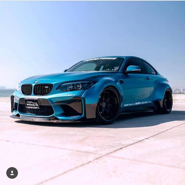 PSM Dynamic BMW M2 F87 Carbon Widebody Tuning 5 Jetzt doch PSM Dynamic BMW M2 F87 Carbon Widebody