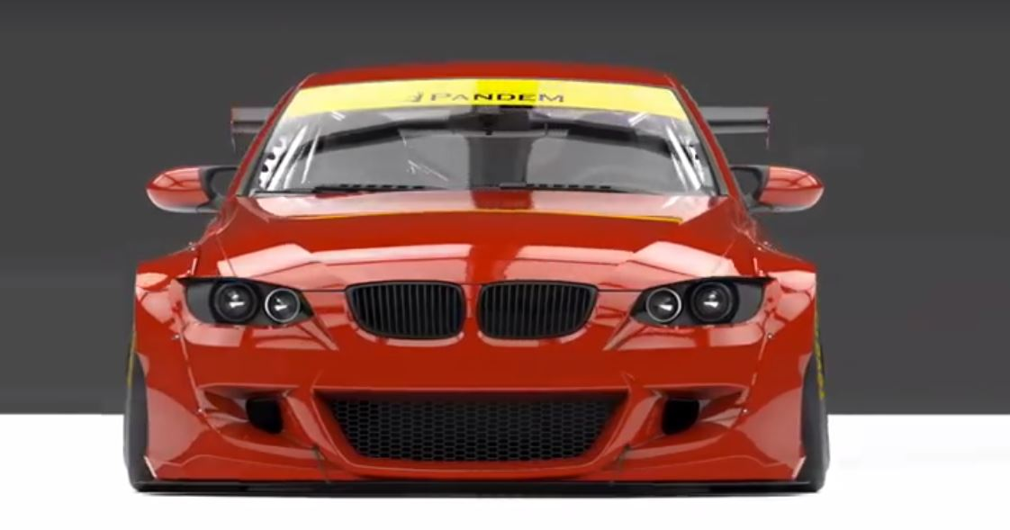 Pandem Widebody BMW E92 M3 Coupe Concept 1 Vorschau: Pandem Widebody BMW E92 M3 Coupe Concept
