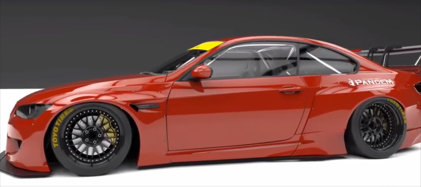 Pandem Widebody BMW E92 M3 Coupe Concept 2 Vorschau: Pandem Widebody BMW E92 M3 Coupe Concept