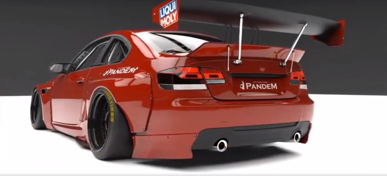 Pandem Widebody BMW E92 M3 Coupe Concept 3 Vorschau: Pandem Widebody BMW E92 M3 Coupe Concept
