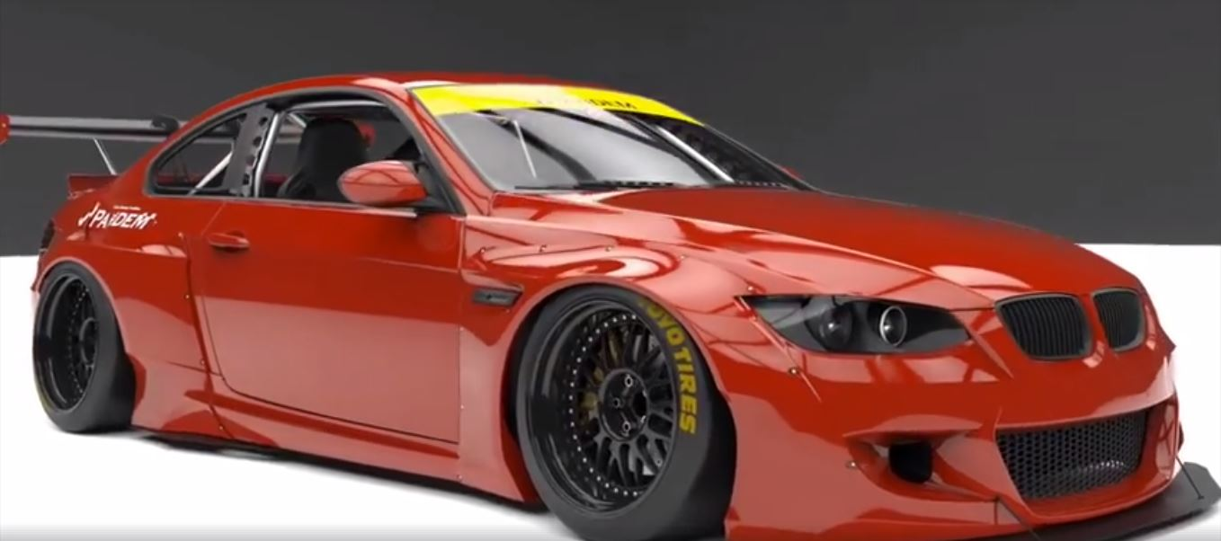 Pandem Widebody BMW E92 M3 Coupe Concept 4 Vorschau: Pandem Widebody BMW E92 M3 Coupe Concept