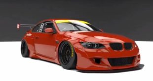 Pandem Widebody BMW E92 M3 Coupe Concept 6 310x165 Vorschau: Pandem Widebody BMW E92 M3 Coupe Concept