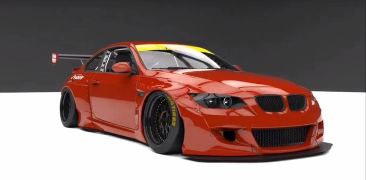 Pandem Widebody BMW E92 M3 Coupe Concept 6 Vorschau: Pandem Widebody BMW E92 M3 Coupe Concept