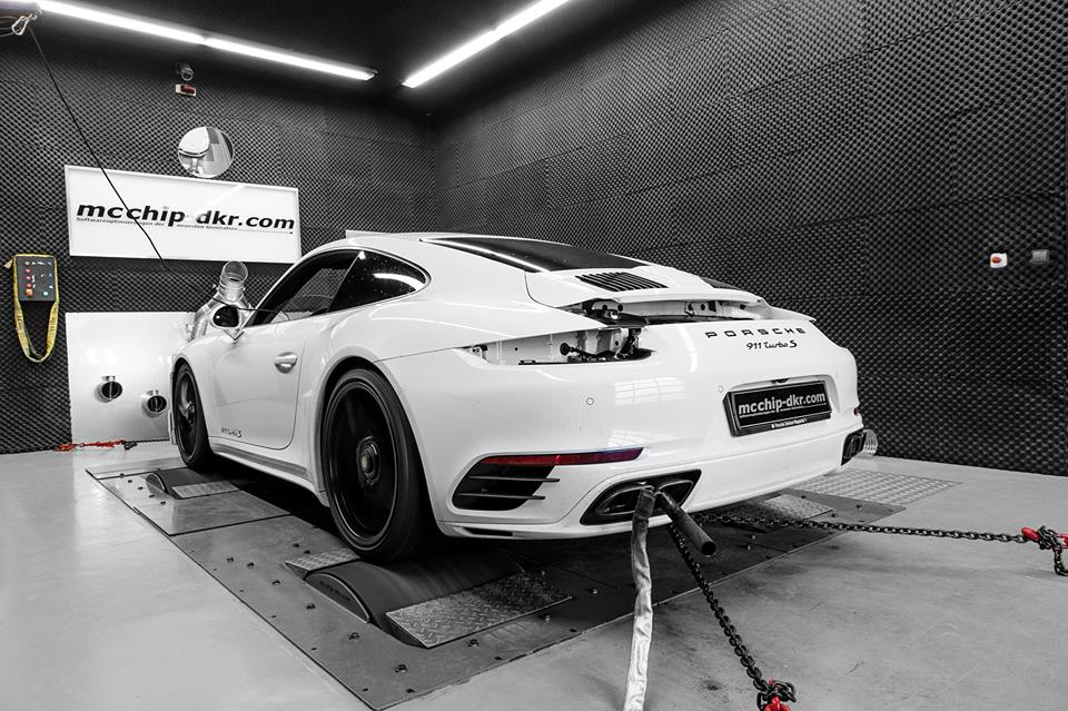 Porsche 911 991.2 Turbo S Chiptuning Mcchip DKR 2 Heftig   Porsche 911 (991.2) Turbo S mit 672 PS by Mcchip