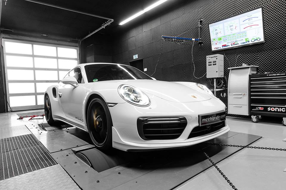 Porsche 911 991.2 Turbo S Chiptuning Mcchip DKR 7 Heftig   Porsche 911 (991.2) Turbo S mit 672 PS by Mcchip