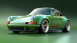 Porsche 964 911 Singer Vehicle Design 2017 Tuning 11 155x87 Perfektion   500 PS Porsche 964 von Singer Vehicle Design's