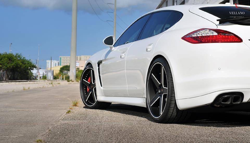 Porsche Panamera GTS Vellano VUH Felgen Tuning 4 Alternative   Porsche Panamera GTS auf Vellano VUH Felgen