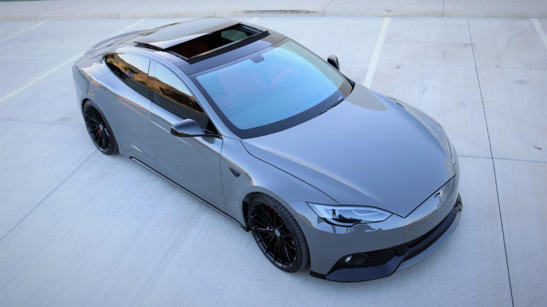 Projekt Tesla Model S Zero to 60 Designs Tuning nardograu 1 Zero to 60 Designs   Projekt Tesla Model S zur SEMA 2017